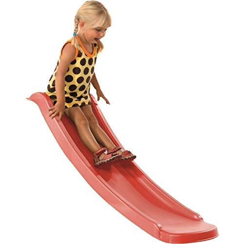 Demmelhuber Babyrutsche Slide 1,20 m für Spielturm mit Podesthöhe 0,60 m Kinderrutsche Anbaurutsche Gartenrutsche
