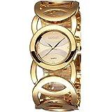AIMES Women's Fashion Jewelry Bracelet Watches Women Stainless Steel Quartz Wristwatches Gold #248702