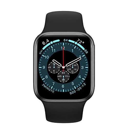 QLK Smart Watch 1.75 Pulgadas Pantalla DW35, 44 Mm, Llamada Bluetooth, Cargador Inalámbrico, Reloj para Hombres para Android iOS,D