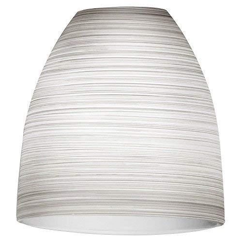 EGLO 90267 Lampenschirm, Glas, weiß