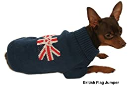 Union Jack British Flag Dog Jumpers
