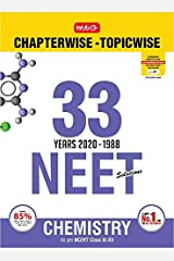 33 Years NEET-AIPMT Chapterwise Solutions - Chemistry 2020 Kindle Edition