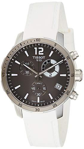 Tissot Men's T0954491706700 Quickster Analog Display Swiss Quartz White Watch