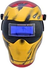 custom welding helmets iron man