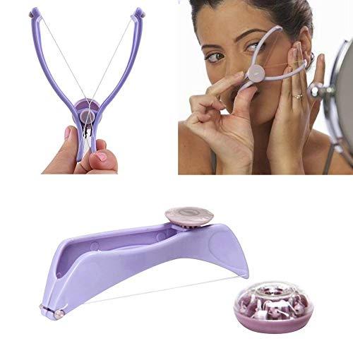 Elalma Spring Convenient Facial Hair Remover Threading Epilator Defeatherer Tool HOT epilator women