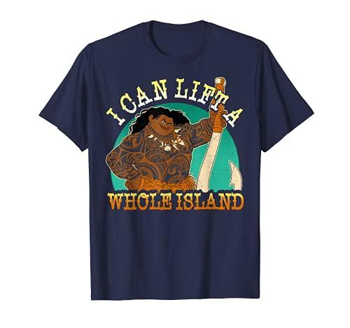 Disney Moana Maui I Can Lift A Whole Island Graphic T-Shirt