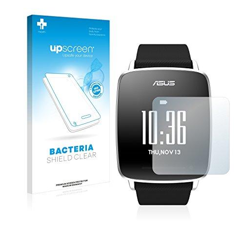 upscreen Antibakterielle Schutzfolie kompatibel mit Asus Vivowatch klare Bildschirmschutz-Folie
