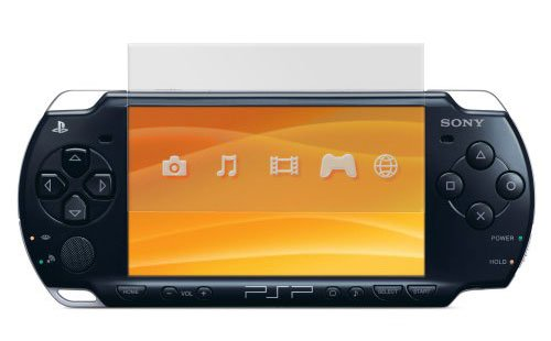 CitiGeeks® 3X Crystal Clear Premium Screen Protector for Sony PSP 2000. Invisible. Pack of 3. CitiGeeks Retail Package.