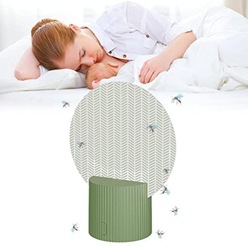 Lubudup Matamoscas eléctrico para mosquitos, trampa para moscas y mosquitos, lámpara antimosquitos...