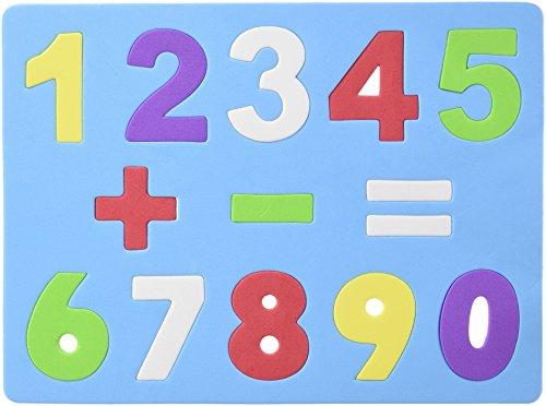 Grafoplas 422287 - EVA puzzel, cijfers en tekens