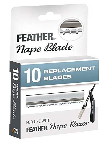 Feather, Accesorio y recambio para depiladoras (Hoja) - 10 unidades