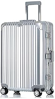 NJC Trolley Case Aluminum Frame Luggage Universal Wheel Suitcase Password Boarding Trolley Case Trolley Case