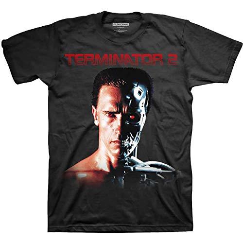 T-Shirt # L Black Unisex # Face/Borg [Import]