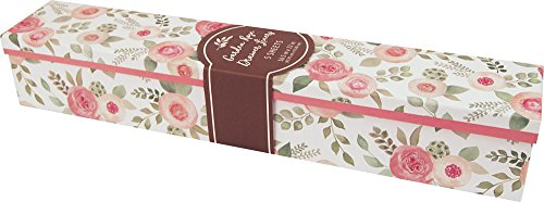 The Gift Wrap Company Scented Drawer Liners, 5-Count, Garden Rose