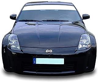 Bubbles Designs Decal Sticker Vinyl Windshield Sun Banner Compatible with Nissan 350Z 2003-2009