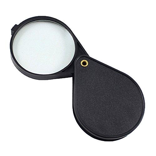 ETOPSTECH 10x 2' Folding Pocket Magnifier Loupe Magnifying Glass Lens