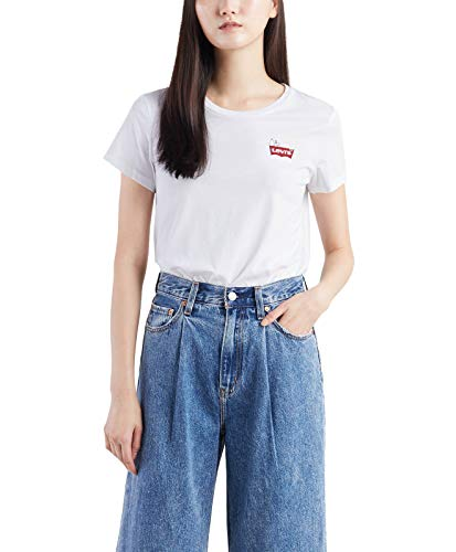 Levis Levi´s ® Damen T-Shirt The Perfect Tee Peanuts Snoopy Chest White XXS