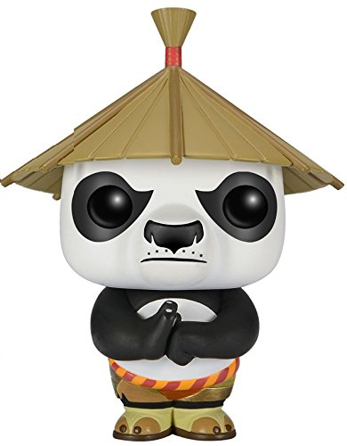Funko 021186 Pop Movies: Kung-Fu Panda Po with Hat 252 Vinyl Figure