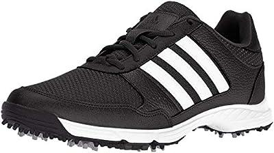 adidas Men's Tech Response Golf Shoe, Black, 10.5 M US