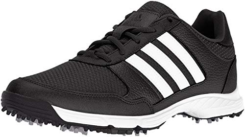 adidas Men's Tech Response Golf Shoe, Black, 7 M US