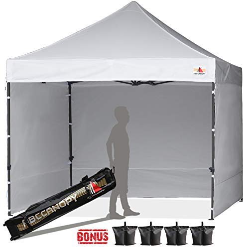 ABCCANOPY Canopy Tent 8x8 Pop Up Canopy Tent Commercial Instant Shade Tent with Upgrade Roller Bag
