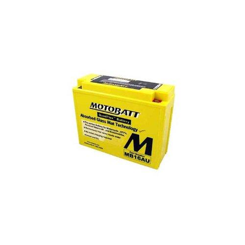 Price comparison product image MotoBatt 12 Volt 20.5 Ah MB16AU Sealed Maintenance Free AGM Battery