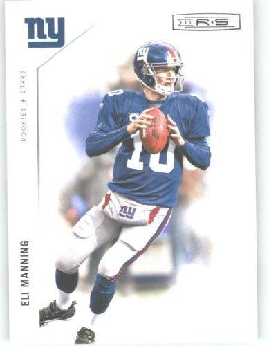 2011 Panini Rookies & Stars Football Card #98 Eli Manning - New York...