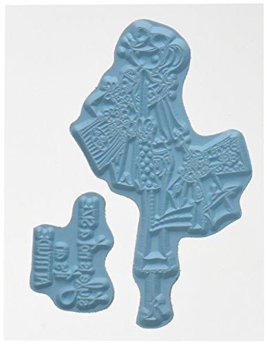 Stempelen Bella Cling Rubber Stempel 6.5 x 4.5-inch, Uptown Meisje Charlotte houdt van te Winkelen, 6.5
