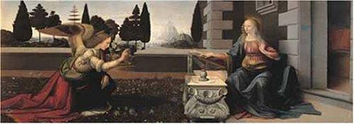 2802N15870G   De Oro Leonardo da Vinci Anunciación 1000 Rompecabezas Pieza