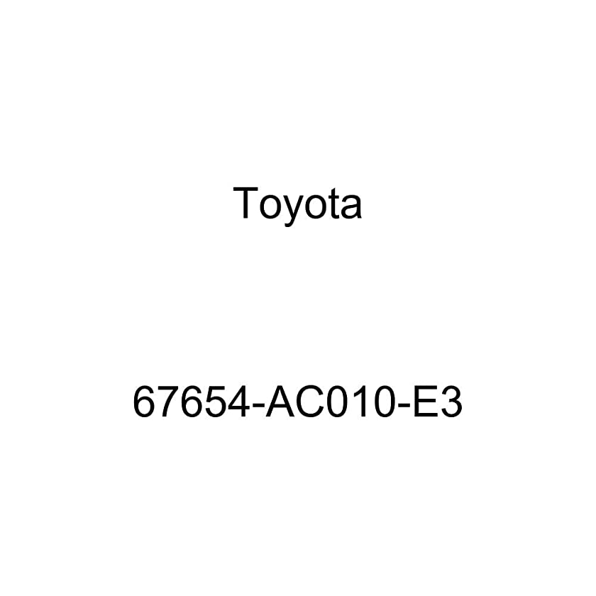 TOYOTA 67654-AC010-E3 Door Speaker Grille Sub Assembly
