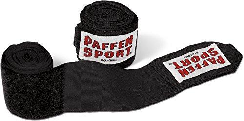 Paffen Sport Allround Boxbandagen nach AIBA-/DBV-Norm, 2,5 m, schwarz