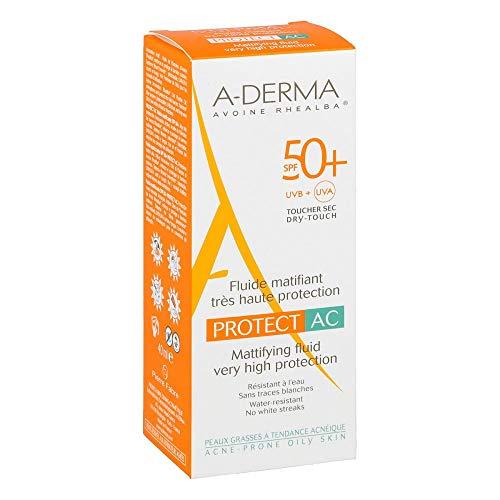 A-DERMA PROTECT AC mattierendes Fluid SPF 50+ 40 ml