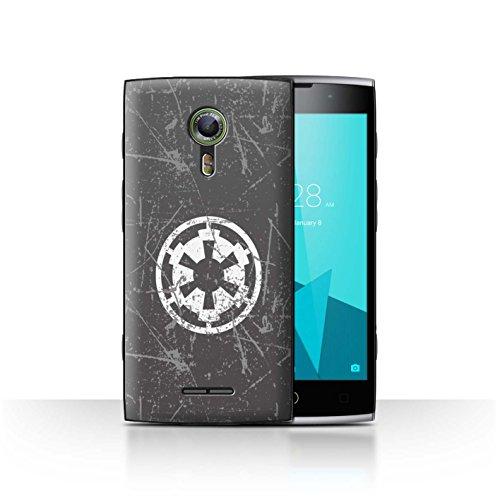 Hülle Für Alcatel Flash 2 Galaktisches Symbol Kunst Galaktisches Imperium Inspiriert Design Transparent Ultra Dünn Klar Hart Schutz Handyhülle Case