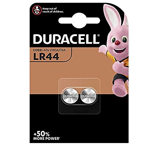 Duracell PX76A LR44 Alkaline Twin Pack Knopfzelle