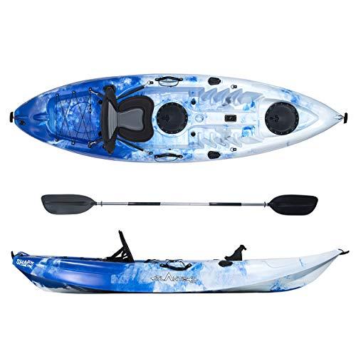ATLANTIS Kayak-Canoa Shark Blu/Bianco cm 280-2...