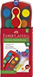 Faber-Castell 125030 - Farbkasten CONNECTOR mit 12 Farben, inklusive Deckweiß, 1 Stück