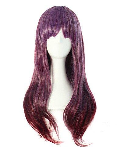 Peluca de pelo rizado de alta calidad europea y americana, longitud de alambre de alta temperatura, necesaria, a la venta, barata