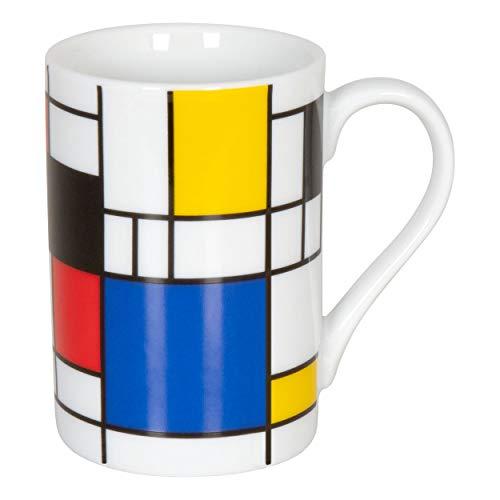 Könitz Bauhaus Hommage Small Fragments Mini Becher, Tasse, Espressotasse, Espresso, Porzellan, 80 ml, 11 1 353 1907