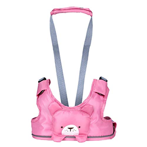 WanXingY Anti-lost Seat Belt, Baby Portable Cartoon Vest Harness, Toddler Traction Belt, Dining Chair Safety Fixing Belt Care Products (Color : Pink)