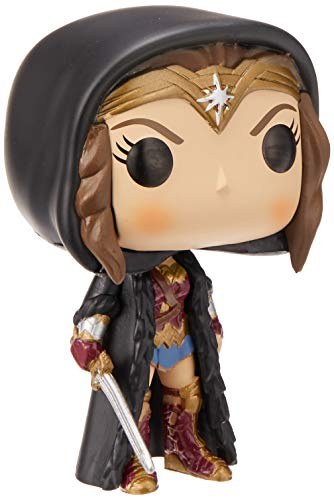 Funko Pop!- 24971 Cloak Wonder Woman Figura de Vinilo, Multicolor
