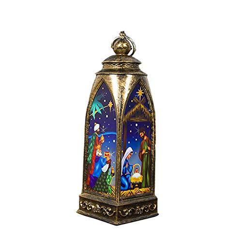 Pictury hanglamp kerstlicht kerstboog lantaarn hanglamp voor kerstboomversiering high grade