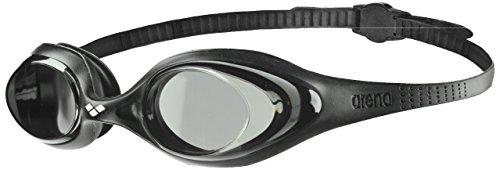 arena Spider Anti-Fog Schwimmbrille Unisex für Erwachsene, Schwimmbrille mit UV-Schutz, Selbstjustierender Nasensteg, Hypoallergene Silikon Dichtungen