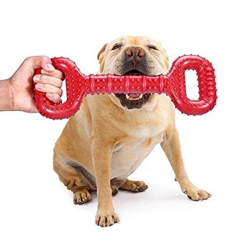 Feeko Dog Toys for Aggressive Chewers Large Breed 15 Inch Interactive...