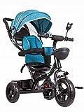 ECOTOYS Dreirad BLAU Kinderrad Kinderdreirad Fahrrad Rad Kinderfahrrad Fahrzeug