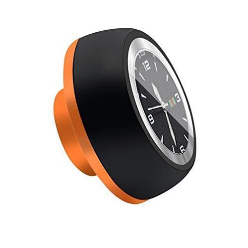 JVSISM Bicycle Headset Stem Watch Waterproof Watches Luminous Headset Stem Watch Bike Stem Top Cap Accessories-Black+Gold