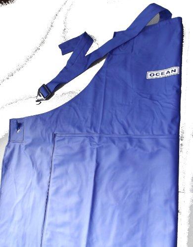 Oceanrainwear Gummischürze aus PVC blau, ca 120 x 90 cm