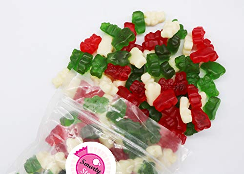 Smarty Stop Gummy Bear Collection (Christmas (Green, Red & White), 5 LB)