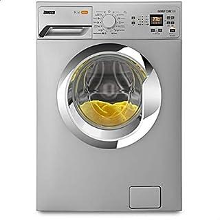 Zanussi ZWF60830SX Digital Front-Load Washing Machine - Silver, 6 kg