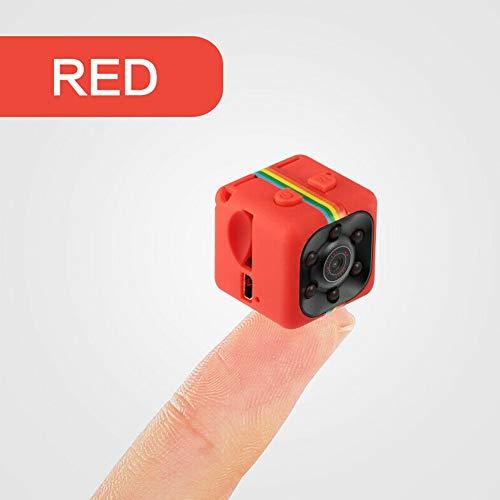 Metermall Mini SQ11 Metal Camera HD 1080P Sports DVR Camera Night Vision Sports Outdoor Camera red 1080P