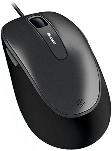 Microsoft Comfort Mouse 4500 - Business Packaging - Silver/Black